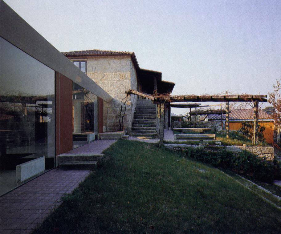 Casa en pontevedra by a cero arquitectos arq4design - Arquitectos en pontevedra ...