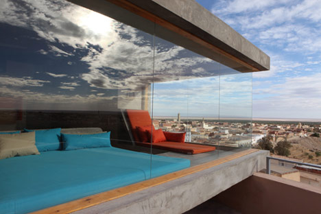 Hotel Dar Hi en Nefta by Matali Crasset