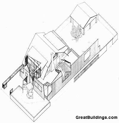 Gehry House en Santa Monica