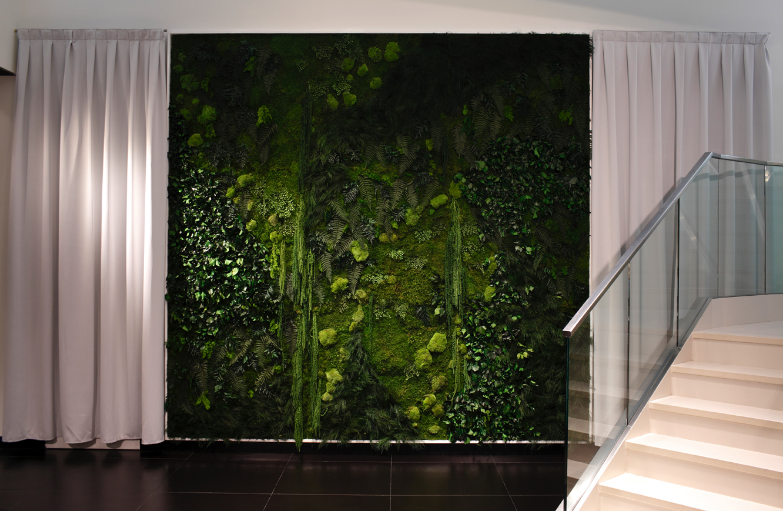 Jardines verticales monterrey jardines verticales 0 de mantenimiento by monamour - Jardines verticales interiores ...
