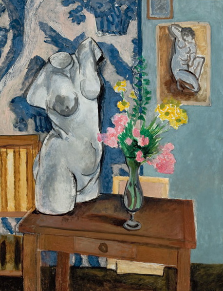 "Henri Matisse ""Busto in gesso"", San Paolo, MASP, Museu de Arte de Sao Paulo"