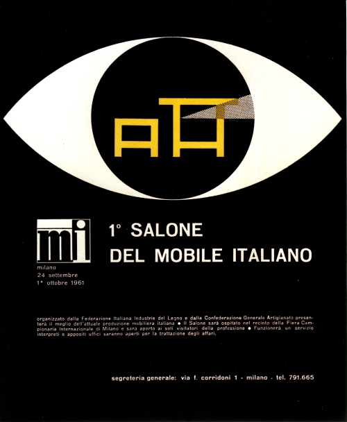 I Salóni de Milán cartel 1961