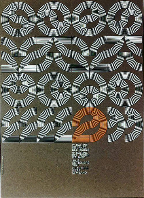 I Salóni de Milán cartel 1969