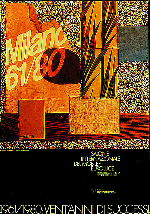 I Salóni de Milán cartel 1980