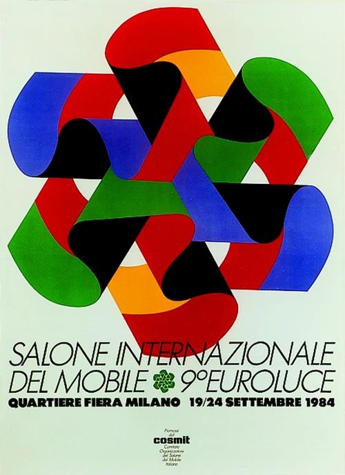 I Salóni de Milán cartel 1984