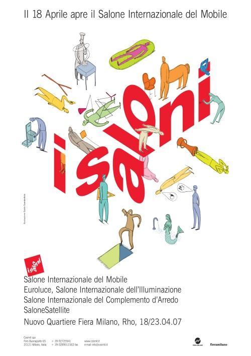 I Salóni de Milán cartel 2007