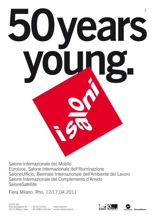 I Salóni de Milán cartel 2011