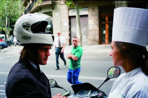 EXPOSICIÓN A PIE DE CALLE - Enrique Muda, C/ París. Barcelona, 2010