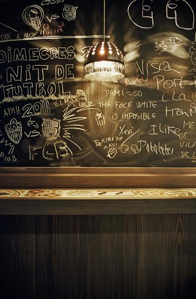 Bar Els Pagesos by Sebastian Vidal Designs