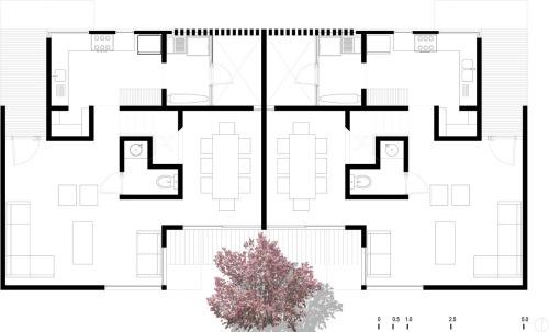 Complejo residencial by Aflo Arquitectos - México