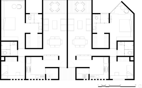 Complejo residencial by Alfo Arquitectos - México