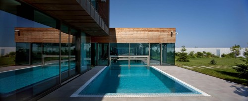 "Casa ""Water Patio"" en Odessa by DROZDOV&PARTNERS Architects"