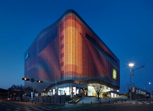 Galleria Cheonan by UNStudio in Korea.