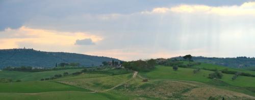 Los alrededores: Villa Vignacce- Siena