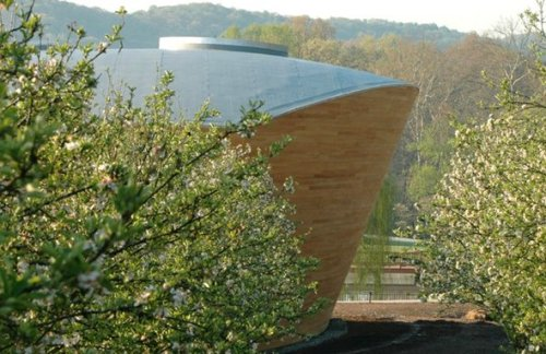 The Riggio-Lynch Chapel by Maya Lin Studio in Clinton, Tennessee, USA