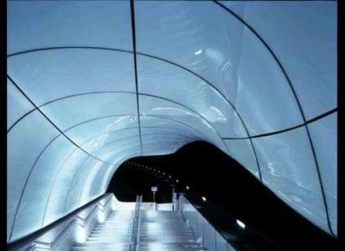 Nordpark Cable Railway by Zaha Hadid Architects in Innsbruck, Austria.