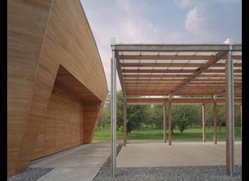 The Riggio-Lynch Chapel by Maya Lin Studio in Clinton, Tennessee, USA