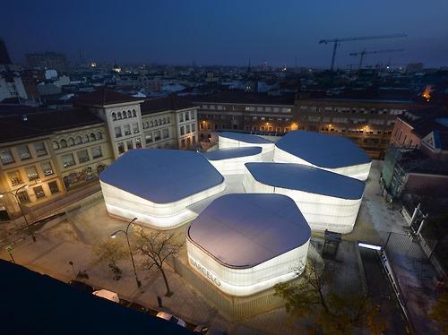 Exposición Jovenes Arquitectos de España by Instituto Cervantes de Chicago