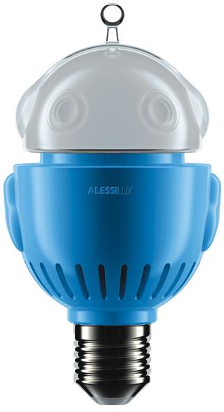 U2Mi2 blue: I Saloni 2011: Bombillas Led de diseño by Alessi