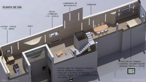 """Prototipo 3d de Vivienda Unifamiliar ad alta eficiencia energética by """"AB positivo 3D"""""""