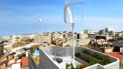 """Prototipo 3d de Vivienda Unifamiliar ad alta eficiencia energetica by """"AB positivo 3D"""""""