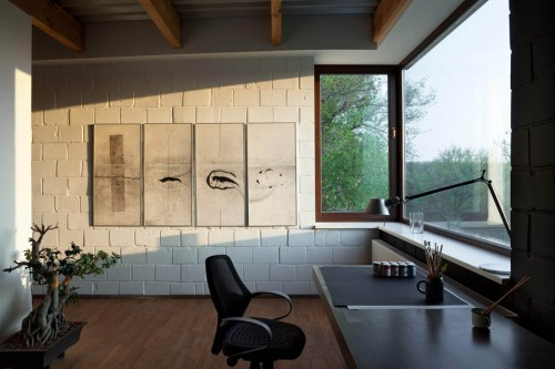 """Casa de diseño """"Antipatio"""" by Drozdov & Partners"""