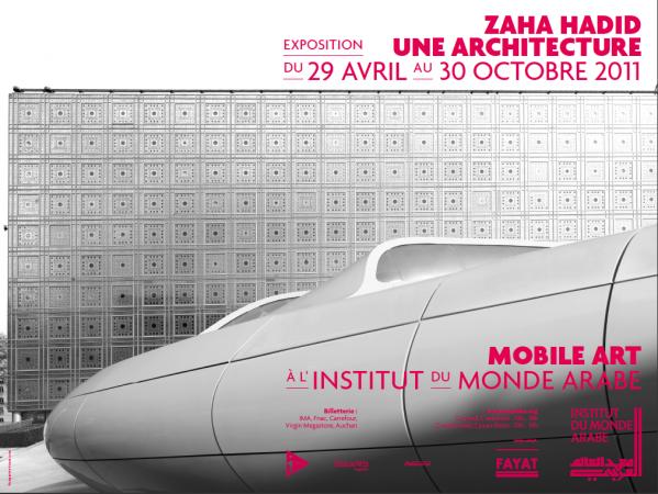 Zaha Hadid Une Architecture – Exposition