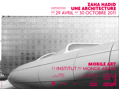 "Exposición Zaha Adid "" Une Architecture"" by Institute du Monde Arabe - Paris -"