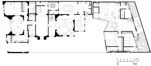 Rehabilitación de una casa Art Deco by JSª - Planta 02