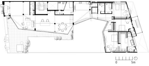Rehabilitación de una casa Art Deco by JSª - Planta 04