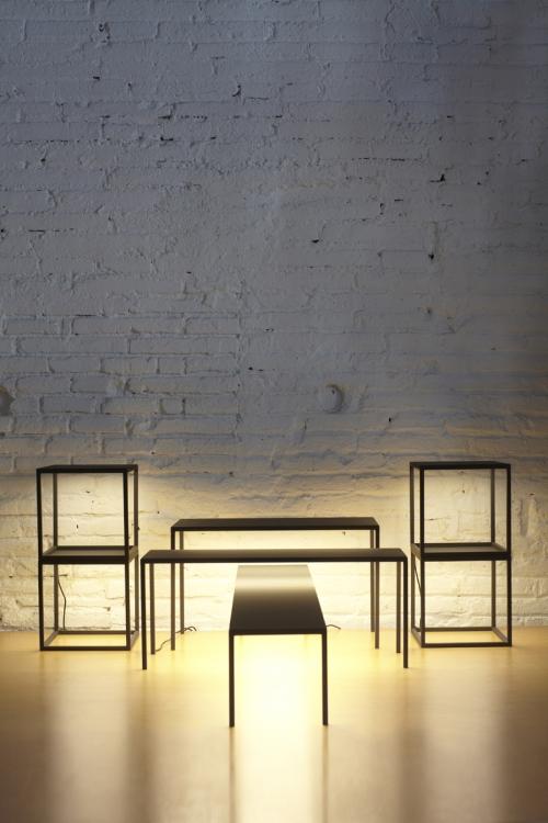 "I Saloni 2011: Sistema de Iluminación ""BlancoWhite"" designer Antoni Arola by Santa & Cole: foto ©Coke Bartrina"