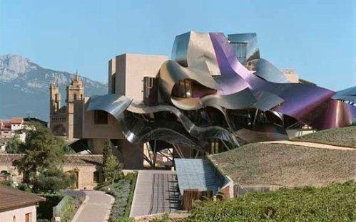 Bodegas con encanto: Marqués de Riscal by Frank Gehry