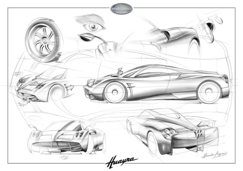 Huayra: design de pies a cabeza by Pagani