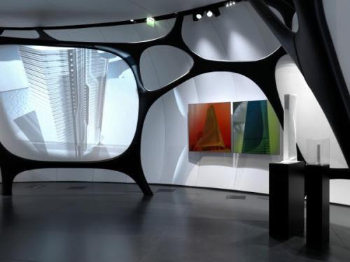 "Exposición Zaha Adid "" Une Architecture"" by Institute du Monde Arabe - Paris -"