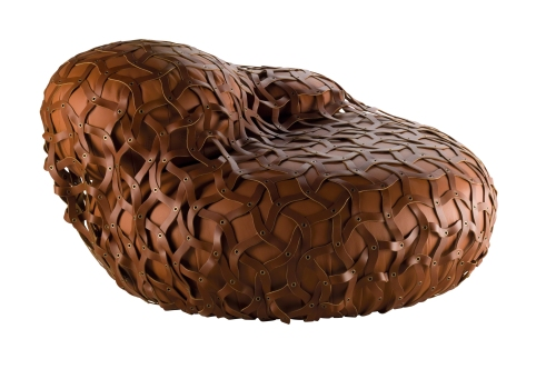 Un Nuevo concepto de asiento: Tricot designer D. Parrault y G. Lauriot - Prévost by Poltrona Frau