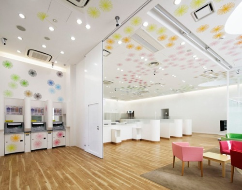 Banco: Sugamo Shinkin Bank by emmanuelle  moreaux architecture + design