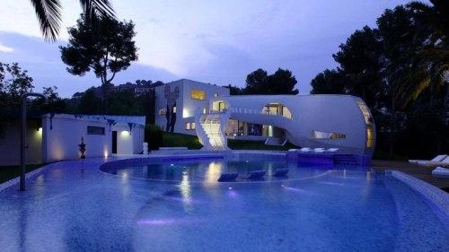 Casa Higth Tech en Mallorca by tecARCHITECTURE