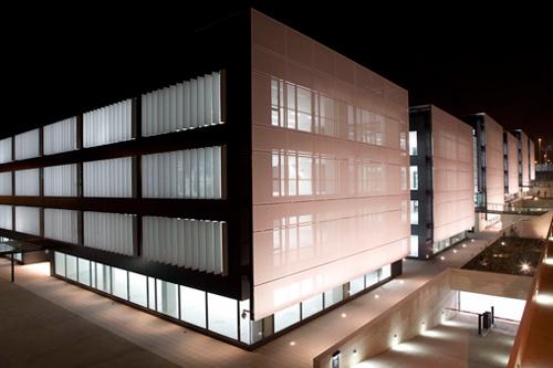 el edificio de oficinas Tripark de Las Rozas de Gabriel Allende Gil de Biedma