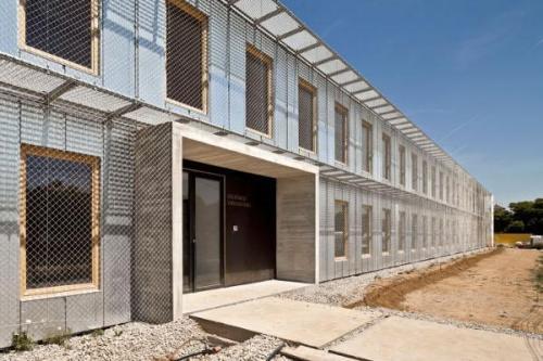57 viviendas universitarias en el Campus de la ETSAV en Barcelona de HArquitectes + dataAE