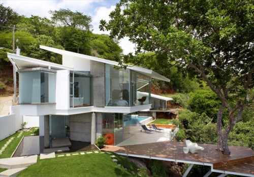 Casa con vista al mar by Victor Cañas arquitecto