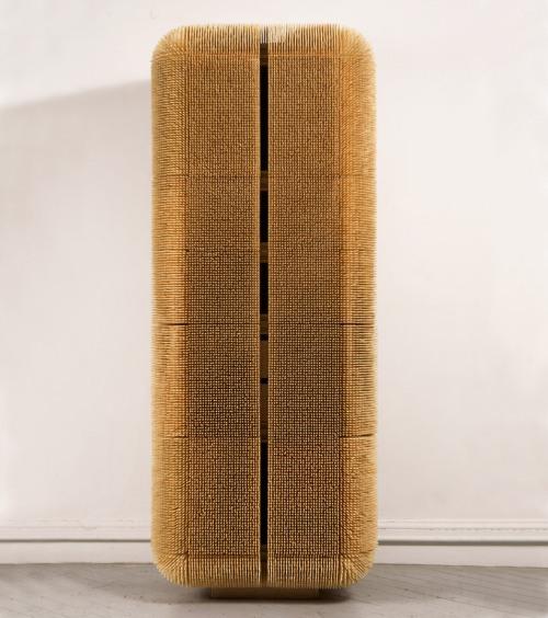 El mobiliario se transforma en arte: Armario de bambú by Sebastián Errázuriz