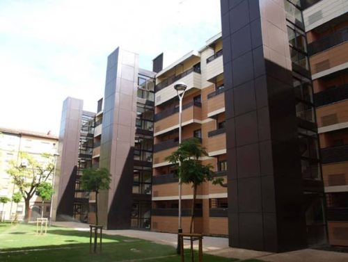 40 viviendas en Grupo Girón, Zaragoza, de Gerardo Molpeceres López y Montserrat Abad Lavilla