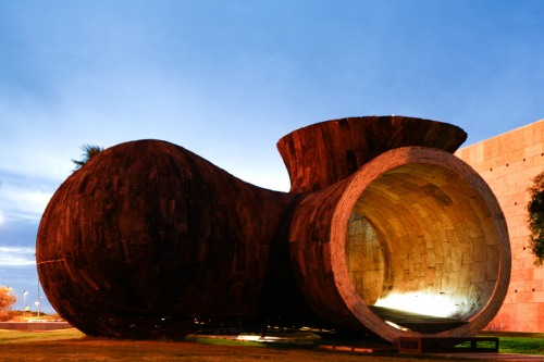 Vivir una escultura by Miguel Arruda arquitecto - photo David Pereira
