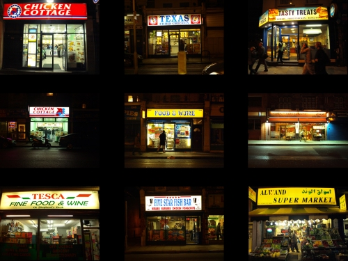 Fried Chicken Street Lighting by Seethisway