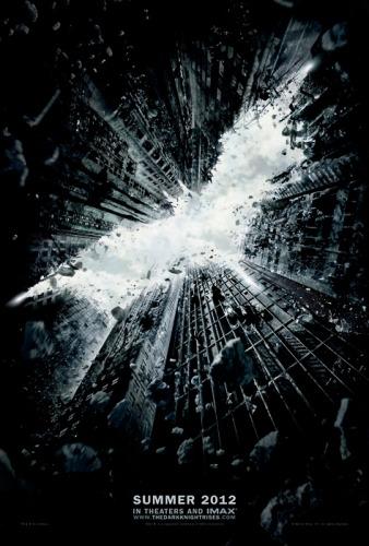 1º poster oficial de Batman 2012